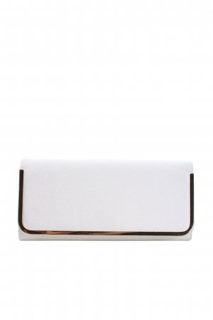 Aldo Clutch weiß Animalmuster Casual-Look