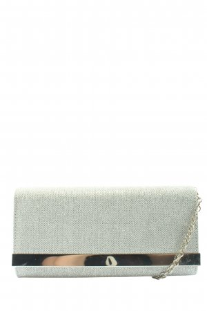 Aldo Clutch silberfarben Elegant