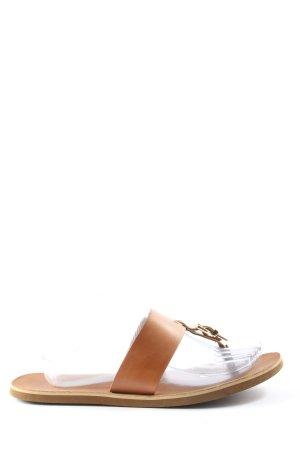 Aldo Dianette sandalen licht Oranje casual uitstraling