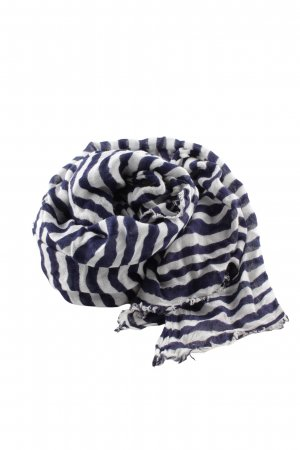 Aldo Neckerchief white-blue striped pattern casual look