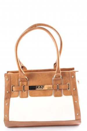 Aldo Carry Bag brown-white business style