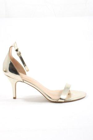 Aldo High Heel Sandaletten goldfarben Elegant