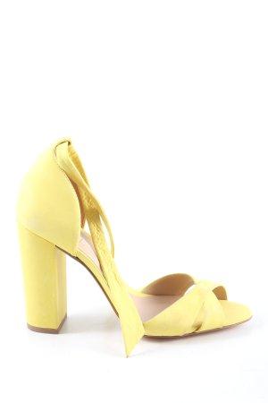 Aldo High Heel Sandaletten blassgelb Business-Look