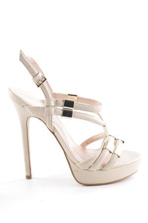 Aldo High Heel Sandaletten creme Elegant