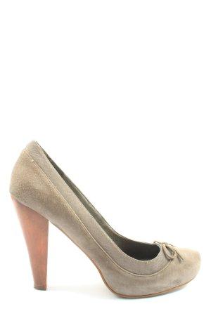 Aldo High Heels cream casual look