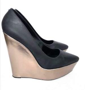Aldo High Heels Plateau Pumps Party Schuhe GR. 38