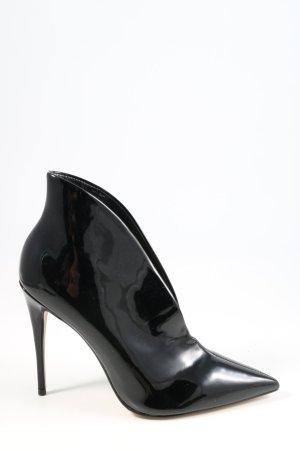 Aldo Buty z zabudowanym przodem czarny W stylu biznesowym