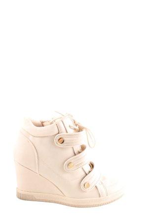 Aldo Stivaletto con zeppa bianco sporco stile casual