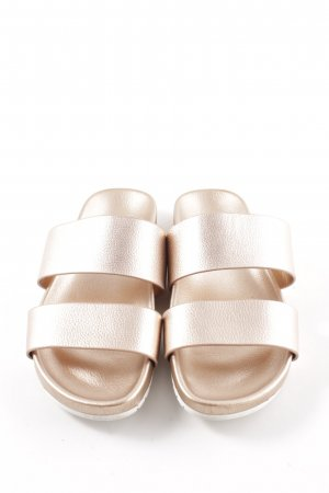 Aldo Comfort Sandals gold-colored casual look
