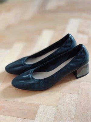 Aldo Bailarinas plegables negro Cuero