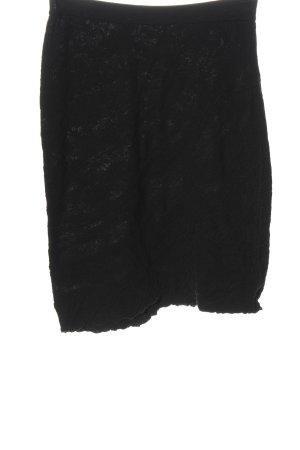 ALDO MARTIN'S Rok met hoge taille zwart casual uitstraling