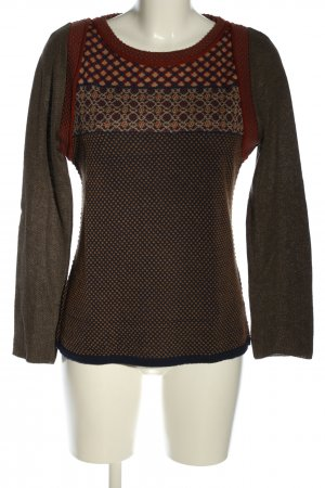 ALDO MARTIN'S Knitted Sweater allover print casual look
