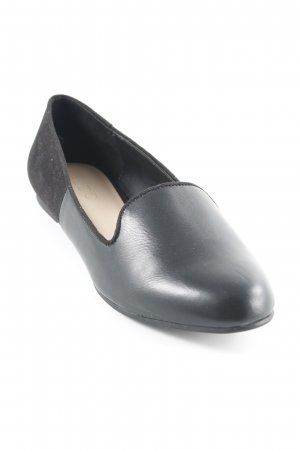 Aldo Ballerinas with Toecap black leather