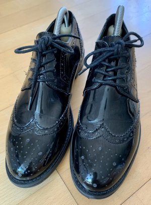 Aldo Oxford Schuhe schwarz Lack