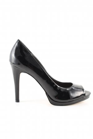 Aldo Peeptoe Pumps schwarz Business-Look