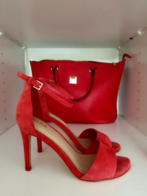 Aldo High Heels red leather