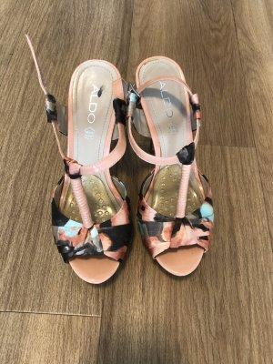 Aldo Plateau-High-Heels in Apricot