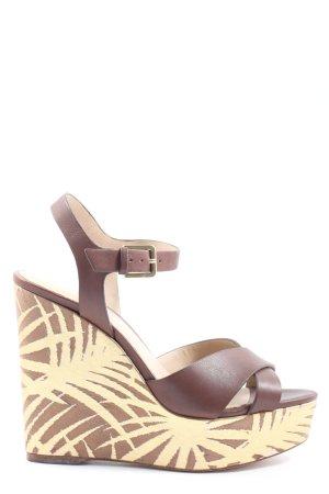 Aldo Platform Sandals brown casual look