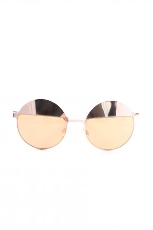 Aldo Retro Glasses gold-colored elegant