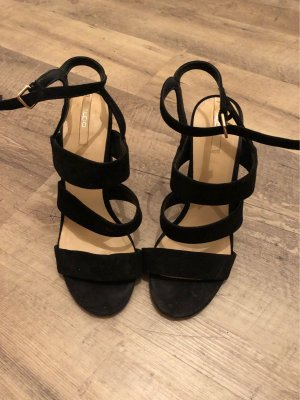Aldo Strapped High-Heeled Sandals black