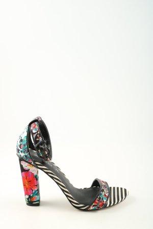 Aldo Sandalen met bandjes en hoge hakken bloemenprint casual uitstraling