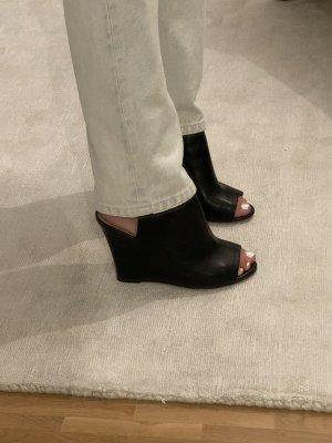 Aldo Sandalias con plataforma negro Cuero