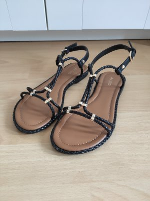 Aldo Strapped Sandals black