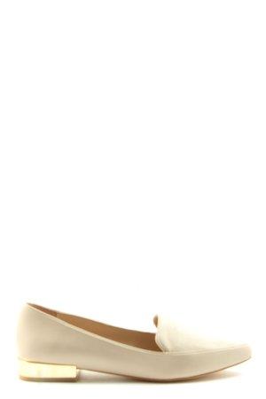Aldo Slip-on Shoes cream business style