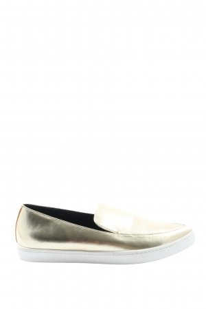 Aldo Slip-on Shoes gold-colored casual look
