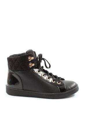 Aldo Lace-Up Sneaker black party style