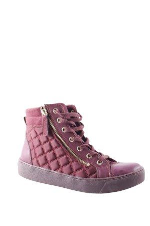 Aldo Lace-Up Sneaker purple athletic style