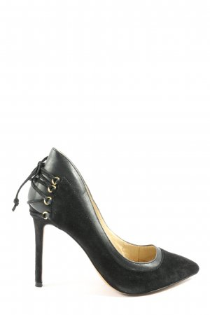 Aldo Spitz-Pumps schwarz Elegant