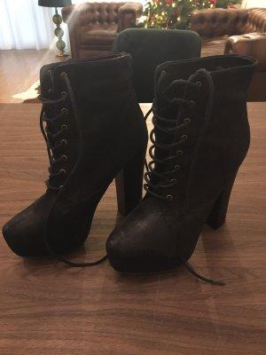 Aldo Lace-up Boots black