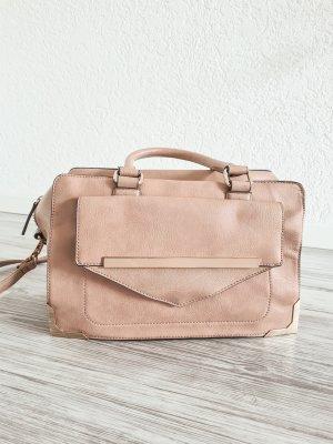Aldo Handbag rose-gold-coloured-beige