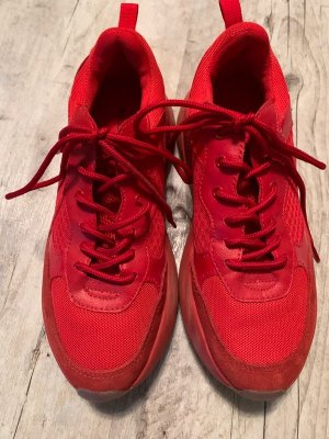 Aldo Sneakers met hak rood