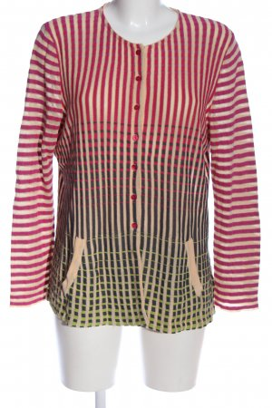 Aldomartins Cardigan striped pattern casual look