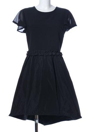 Alesia vestido de globo negro elegante
