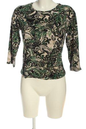 Alessa W. T-shirt imprimé Mélange de motifs style décontracté