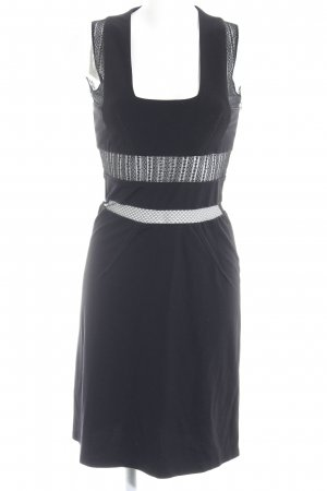 Alessandro Dell' Acqua Cut-Out-Kleid schwarz Elegant