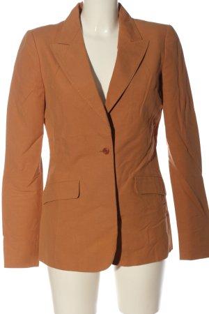 Alessandro Dell' Acqua Klassischer Blazer orange clair style d'affaires