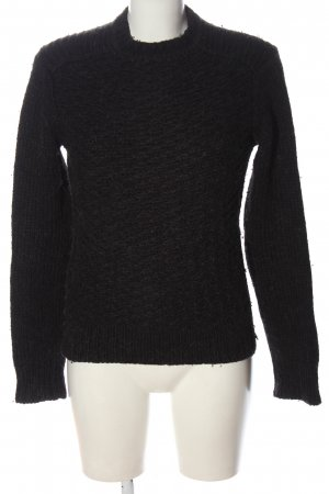 Alessandro Dell' Acqua Pull en laine noir style décontracté