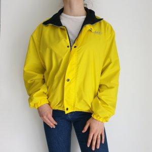 Alex Athletics Gelb Schwarz True Vintage Pulli Pullover Jacke Trainigsjacke Hoodie Sweater Oversize