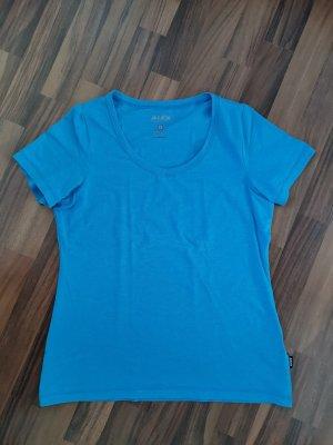 Alex Athletics Koszulka sportowa niebieski neonowy Bawełna