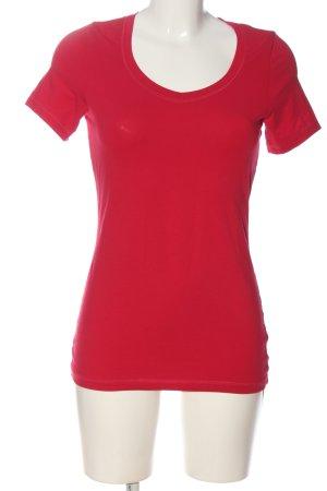 Alex Shirt basique rouge style décontracté