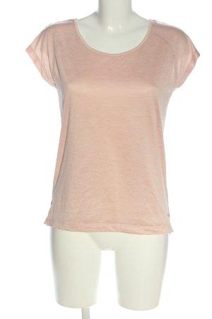 Alex Blouse met korte mouwen roze gestippeld casual uitstraling