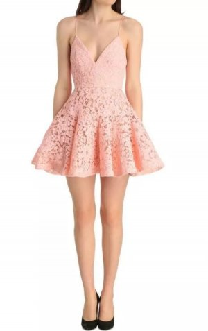 Alex Perry Minikleid pink Elegant