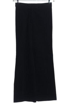Alexa Chung Corduroy Trousers black casual look