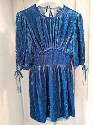 Alexa Chung for AG Sukienka mini stalowy niebieski