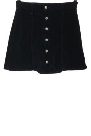 Alexa Chung Mini-jupe noir style décontracté