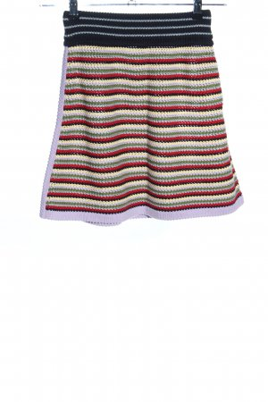 Alexa Chung for AG Knitted Skirt striped pattern casual look